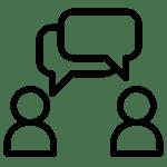 people-talking-icon